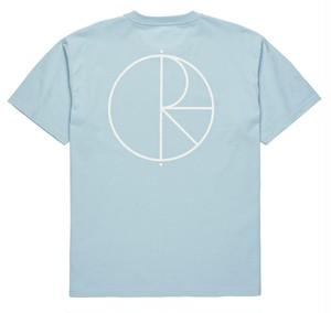 POLAR SKATE CO. STROKE LOGO TEE LIGHT BLUE ポーラー