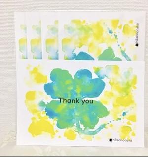 thank you【 ポストカード】1枚組