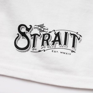 STRAIT POCKET T-SHIRTS #WHITE