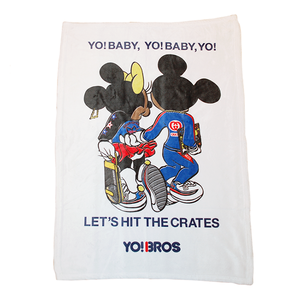 """Let's Hit The Cretes"" Soft Blanket"