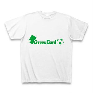 グリーンカードTシャツ緑