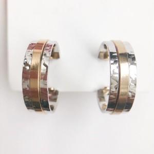 """AVON"" Sleekline Hoop earring[e-1198]"