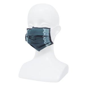 【アップマークサム】いつものマスク姿がオシャレに変身!不織布マスクカバー naamio 夢の国シリーズ【ゴーストレース】&クレンゼガーゼマスク(一般サイズ)セット