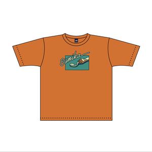sumika / ボックスシルエットTシャツ(オレンジ)