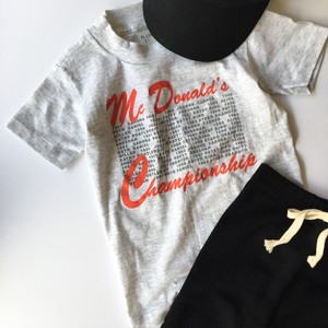Mc Donalds Tee Kids