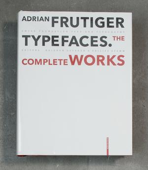 Adrian Frutiger /Typeface