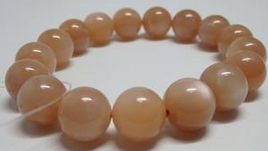 オレンジムーンストーン 12~12.5mm