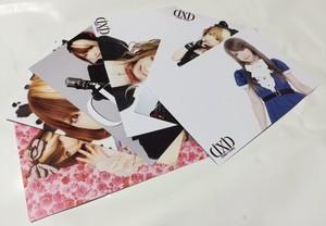 ポストカード・ランダム3枚入り(全6種類)