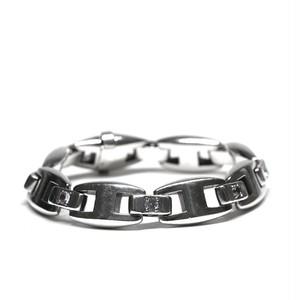 Hermès Vintage Sterling Silver & Sapphire Bracelet