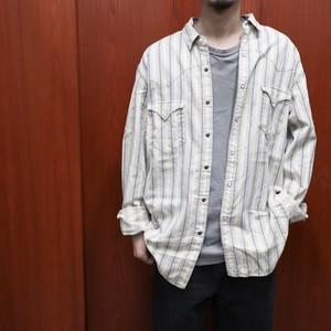 "Polo by Ralph Lauren L/S cotton western shirts ""stripe texture"""