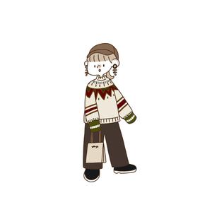 〈1周年リクエストアイテム〉レイジールーズセーター【lazy loose sweater】