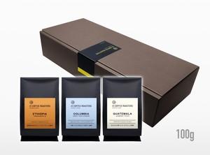 【ギフト】よりどりコーヒー豆3種 100gずつ