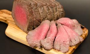 【雪むろ芳醇牛】ローストビーフ(国産赤身モモ肉)
