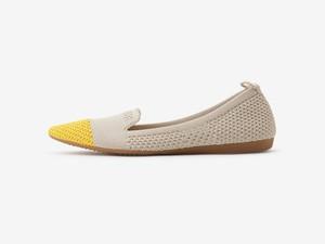 bicolor design / BEIGE & YELLOW