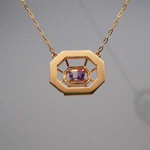 OLIVIA  MIRROR  PENDANT  NECKLACE  SMALL  受注オーダー (ペンダント  ネックレス)