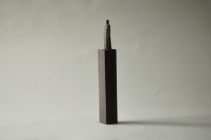 (080)wood figure-mini台付_049