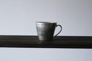 陶芸作家【谷井直人】銀彩×銀材  マグカップ