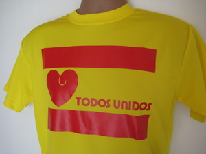 TODOS UNIDOS T-SHIRT YELLOW
