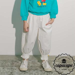 [sold out] スモークバンディング パンツ 裾リブパンツ ジョガーパンツ 2Colors