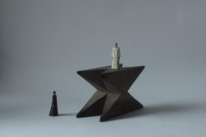 (027)wood figure-mini & construction 箱入 011