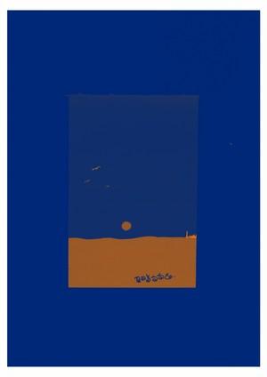 波止場の見える景色(A4ポスター)