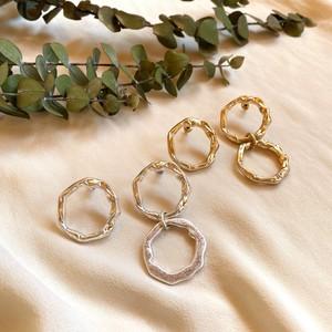 asymmetry stacking ring pierce