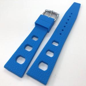 ヴィンテージ トロピック スポーツバンド 復刻ラバーベルト ブルー 20mm 腕時計ベルト