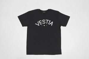 Logo&star Print T-shirt Lady's(Black・White)