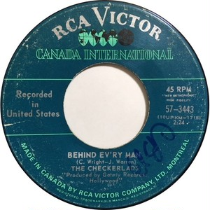 Checkerlads, The – Behind Ev'ry Man / My Time Is Comin'