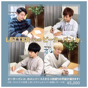 LETTER from ピーターパンJr.
