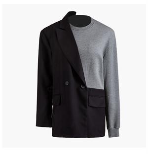 RIMI&Co. SELECT スウェットドッキングテーラードジャケット