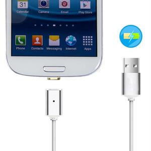 MARKET microUSB Android マグネット USB充電ケーブル マグネットケーブル 充電アダプター 急速充電 LED 通信 スマホ タブレット (android) mdab054