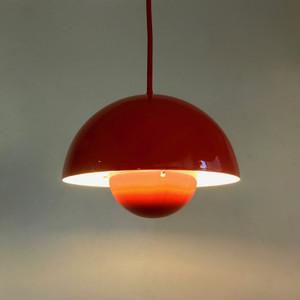 Flowerpot Lamp by Verner Panton  for Louis Poulsen 70's デンマーク