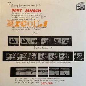 【LP】BERT JANSCH/Nicola