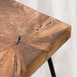 Iron Wood Stool 2 Types / 北欧ナチュラルスタイル アイアン木製スツール