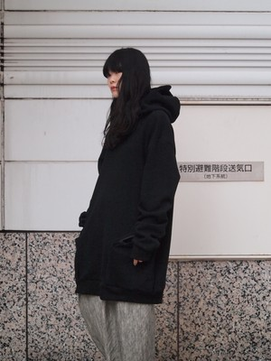 NICK NEEDLES Big Parka black
