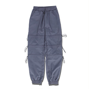 STRING TRACK PANTS / GRAY