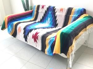 Mexican Rug Blanket メキシカンラグブランケット ダイアモンドデザイン