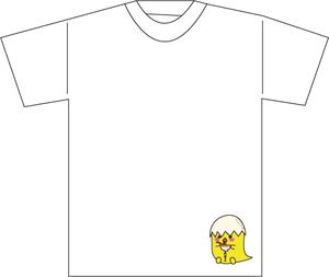 代々木Barbara受注作品Tシャツ(とやまあおいアバター1)