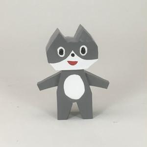 2.5次元シリーズ ネコ(グレー) フィギュア  fg-029