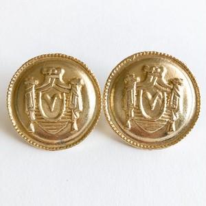 80's big coin pierce[p-622]