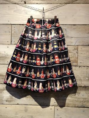 パンプス柄♡スカート