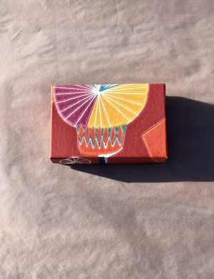 小箱 <スウェーデンの紙/Tistler-red01>