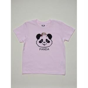 PANDA帽TEE(ピンク)