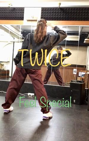 AYAKO K-POPダンス入門 – TWICE(Feel Special サビ)振付