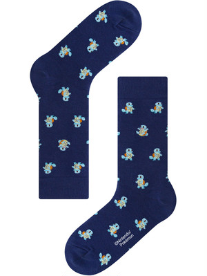 ※再入荷未定【Pocket Monsters socksappeal】Zenigame│【ポケットモンスター ソックスアピール】ゼニガメ