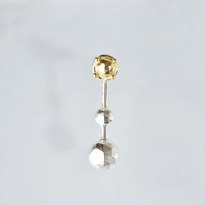 rosecut結合 pierce (1×2,long)-1piece