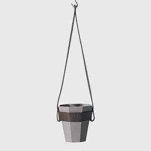 Leather Hanging Flowerpot Set