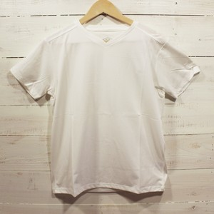 umbro Locker Room Limited Stretch S/S V-Neck WHITE