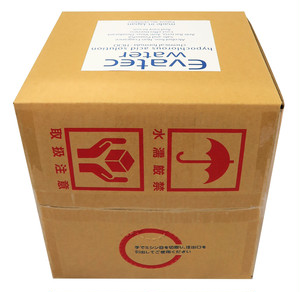 【EW-QT20】エヴァテック ウォーター 除菌消臭液 20リットル キューブテナー 200ppm